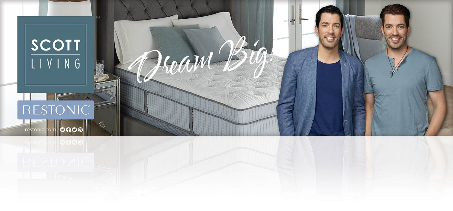 Restonic Scott Living Mattress Line